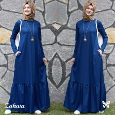 Review Gamis Pesta Baju Gamis Gamis Wanita Baju Muslim Wanita Terbaru Baju Muslim Wanita Terbaru Maxi Jersey Pashmina Uk L Blue Dki Jakarta
