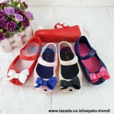 Trendi Sepatu Anak Perempuan Jelly Pita WARNA DIKIRIM RANDOM JLPTAKC
