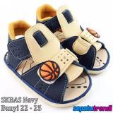 Beli Barang Trendishoes Sandal Anak Bayi Bunyi Bola Basket Navy Online