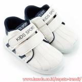 Trendishoes Sepatu Anak Laki Laki Kids Sport Dsag Putih Navy Terbaru