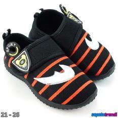 Beli Trendishoes Sepatu Anak Bayi Cowo Velcro Boomerang Rdcnik Hitam Cicil