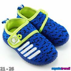 Harga Trendishoes Sepatu Anak Bayi Laki Laki Import Motif Rdcbmx Biru Hijau Di Indonesia