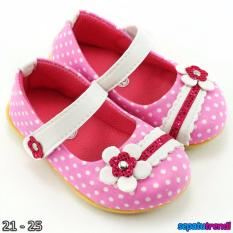 Trendishoes Sepatu Anak Bayi Perempuan Pokadot Bunga Bgpkd Pink Trendishoes Murah Di Dki Jakarta