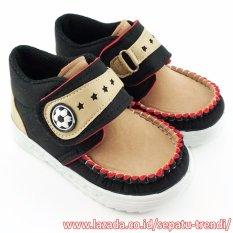 Jual Trendishoes Sepatu Anak Bayi Laki Laki Ansp Hitam Lengkap