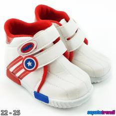Jual Trendishoes Sepatu Anak Laki Laki Sport High Cut Semi Boot Jbk Merah Trendishoes Original