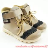 Jual Trendishoes Sepatu Boot Anak Laki Laki Free Born Beige Branded Original