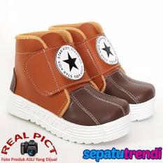 TrendiShoes Sepatu Boot Anak Laki-Laki Star Kid STARDPN - Tan Brown