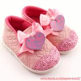 Obral Trendishoes Sepatu Bunyi Slip On I Love You Pink Murah