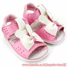 Beli Trendishoes Sepatu Sandal Bunyi Anak Walker Pbdnr4 Pink Trendishoes Online
