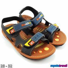 Trendishoes Sepatu Sandal Gunung Anak Laki Dual Velcro Bboyt1 Hitam Indonesia Diskon 50