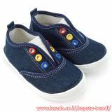 Jual Cepat Trendishoes Sepatu Anak Bayi Laki Slip On Sol Karet Ndb01 Navy