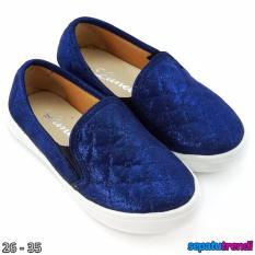 Jual Lunetta Sepatu Slip On Anak Perempuan Luxe Fcl Navy Lunetta Asli
