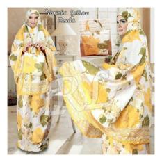 Obral Trendshopee Mukena Katun Jepang Varisha Yellow Murah
