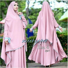 Harga Trendynowshop Fashion Muslim Gamis Syari Elsa 4 Pink Trendynowshop Original