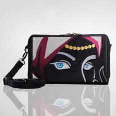 Trojika HPO8/HPO 8 Angel Eyes Tas/Dompet Selempang Wanita Muat Tablet 8 inch,Slot Kartu,Token,Uang Kertas