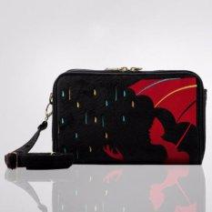 Trojika HPO8/HPO 8 Lady Rain Tas/Dompet Selempang Wanita Muat Tablet 8 inch