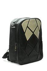 Troos Tas Ransel Impor Fashion Korea Style Unisex Venom Black Leather A051 Hitam Promo Beli 1 Gratis 1