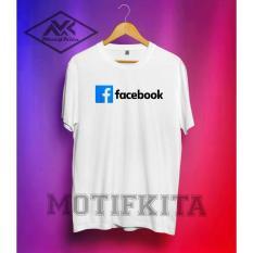 Tshirt / Baju / Kaos Facebook / Fb Simple Elegant Keren (Must Buy) - 9969C5