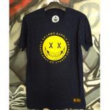 Harga Tshirt Distro Original Flamo Cloth Tshirt Pria Navy Original