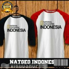 Tshirt Gildan NATIONAL GEOGRAFI INDONESIA Best Quality Virgoshop Cloth