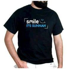 Harga Tshirt Kaos Big Size Xxxl Smile It S Sunnah One Tshirt Original