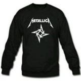 Spesifikasi Tshirt Metallica Distro Kaos Lengan Panjang Metallica Hitam Paling Bagus