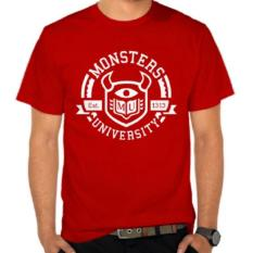 Tshirt Monsters University Redd Black Playclotink Diskon