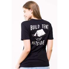 Katalog Erigo Tshirt Outside Unisex Black Erigo Terbaru