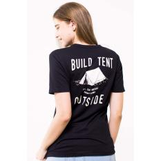 Toko Erigo Tshirt Outside Unisex Black Murah Di Indonesia