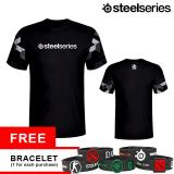 Jual Tshirt Steelseries Arctis Black Branded Murah