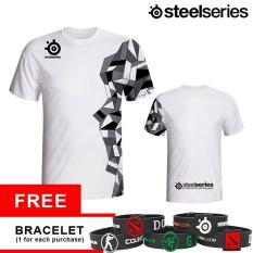 Tshirt Steelseries Arctis White Dki Jakarta