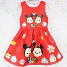 Jual Tsum Gadis Kecil Tanpa Lengan Vest Gadis Gaun Merah Merah Oem Ori