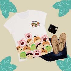 Tsum-tsum disney CDA1002 T-shirt Wanita / Kaos Cewek / Tumblr Tee Cewek / Kaos Wanita Murah / Baju Wanita Murah / Kaos Lengan Pendek / Kaos Oblong / Kaos Tulisan
