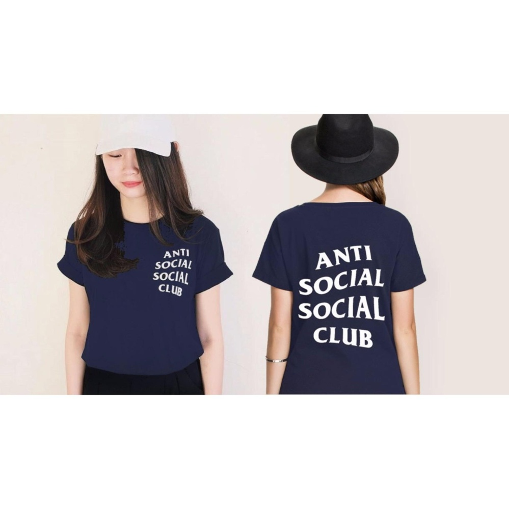 INC Tumblr Tee T Shirt Kaos Wanita ANTI SOCIAL SOCIAL CLUB 64e2372aac