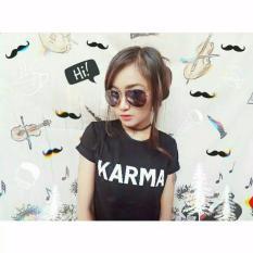 ELLIPSES.INC Tumblr Tee / T-Shirt / Kaos Wanita Karma - Hitam