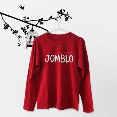 Acc Global / Kaos / Kaos Lengan Panjang / Kaos Wanita Jomblo Warna Maroon
