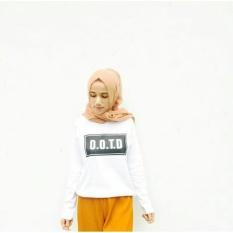 Tumblr Tee / T-Shirt / Kaos Wanita Lengan Panjang OOTD Basic