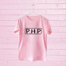 Acc Global / Kaos / Kaos Lengan Pendek / Kaos Wanita PHP Warna Pink