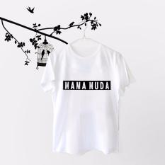ELLIPSES.INC Tumblr Tee / T-Shirt / Kaos Wanita Mama Muda - Putih