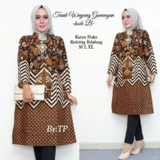 Tunik batik model terbaru/baju seragam
