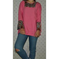 Harga Ar Wearhouse Tunik Wanita Pink Branded