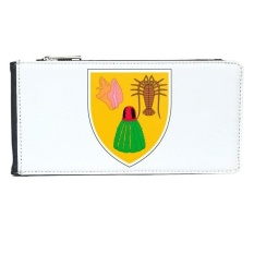 Turks and Caicos Islands National Emblem Multi-Card Faux Leather Rectangle Wallet Card Purse Gift - intl