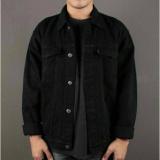 Harga Twosix S Jaket Jeans Hitam Pria Best Seller Yang Murah