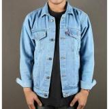Toko Jual Twosix S Jaket Jeans Pria Bioblitz Biru Muda Best Seller