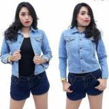 Beli Twosix S Jaket Jeans Wanita Bioblitz Biru Muda Best Seller Yang Bagus