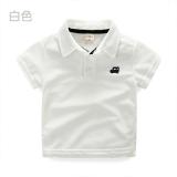 Ulasan Lengkap Tentang Tx 7277 Rumah Korea Baru Anak Anak Bordir Kemeja Warna Solid Lengan Pendek T Shirt Putih