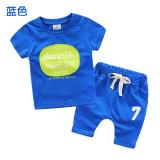 Jual Sayang Tz 2817 Laki Laki Baru Anak Lengan Pendek T Shirt Biru Di Bawah Harga