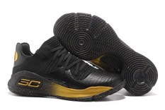 UA SC Curry 4.0 Low Top Men's Basketball Shoes Stephen Curry Offical ( Black ) - intl