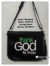 Harga Ubutik Korean Bag Wanita Tas Selempang Sling Bagwanita Nama 02 Black New