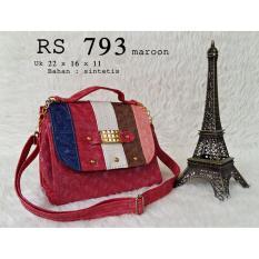 Ubutik Lokal Bag Tas Slempang Wanita Rs 793 Merah Asli